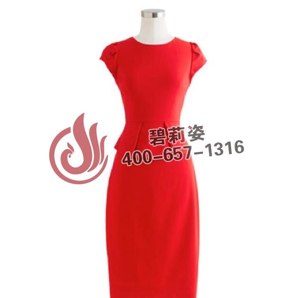 上海定制桑蚕丝连衣裙厂